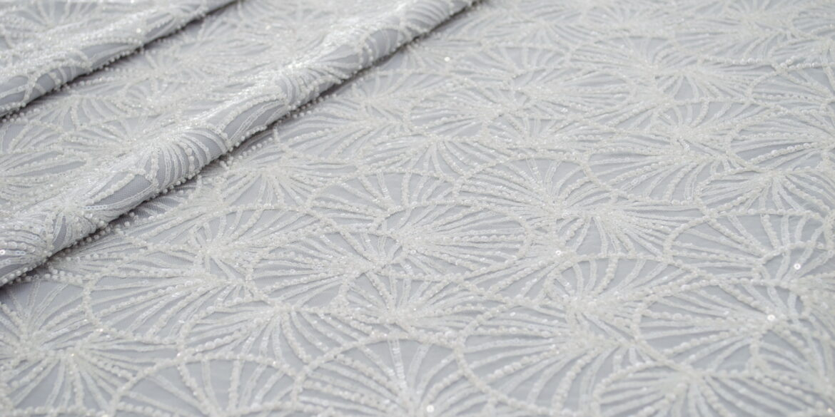 Embroidered Allover lace