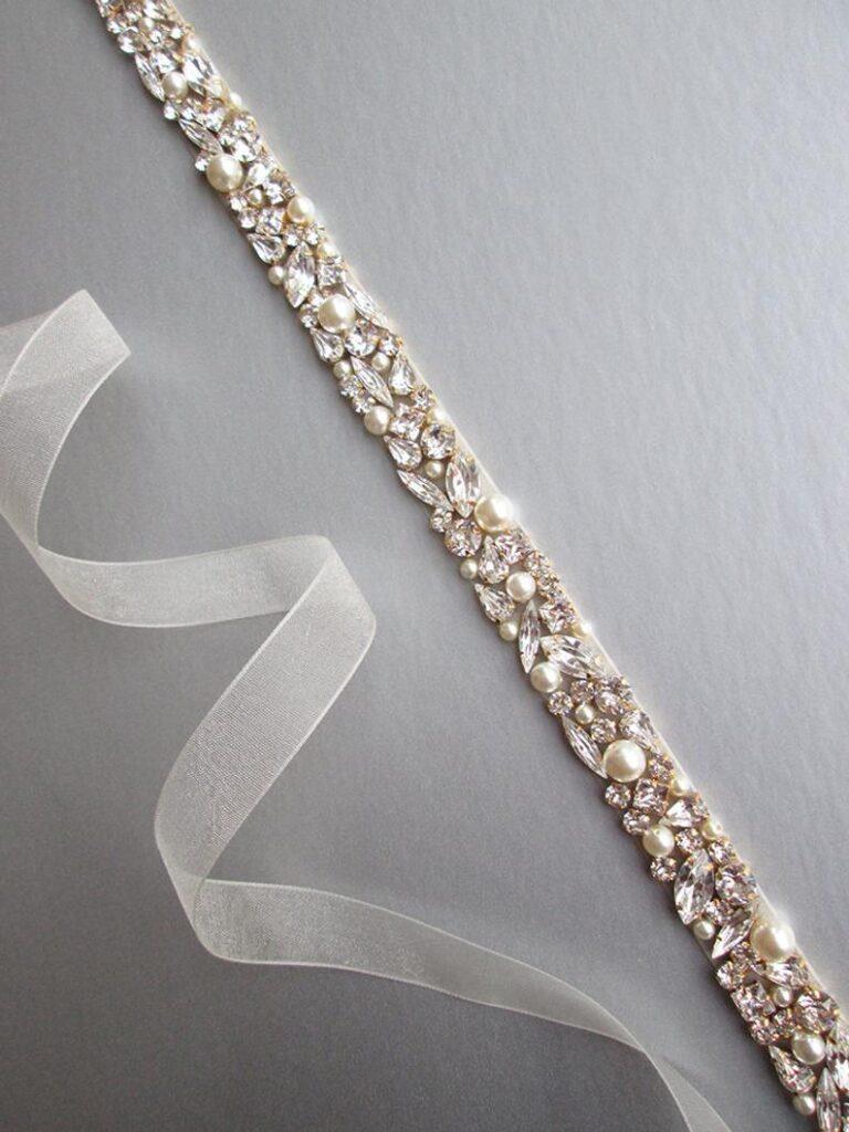 Пояс с кристаллами Swarovski