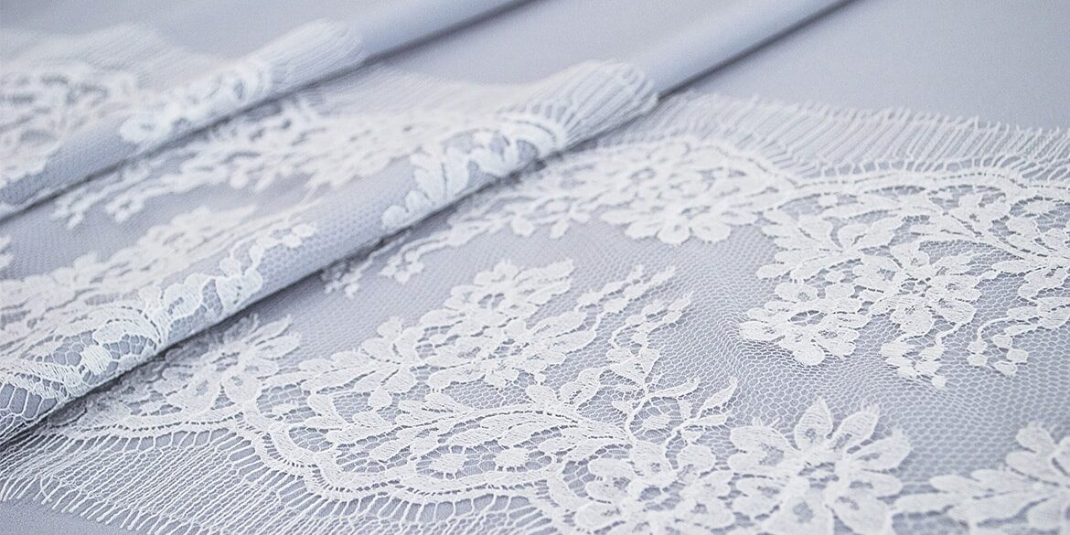 French chantilly lace trim (original)