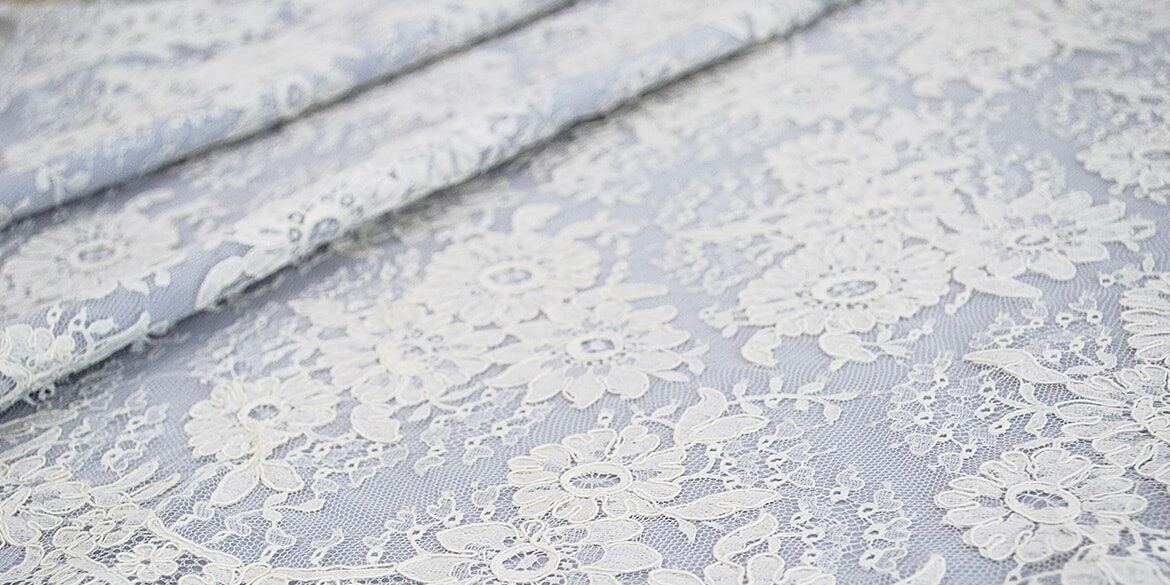 French chantilly lace (original)