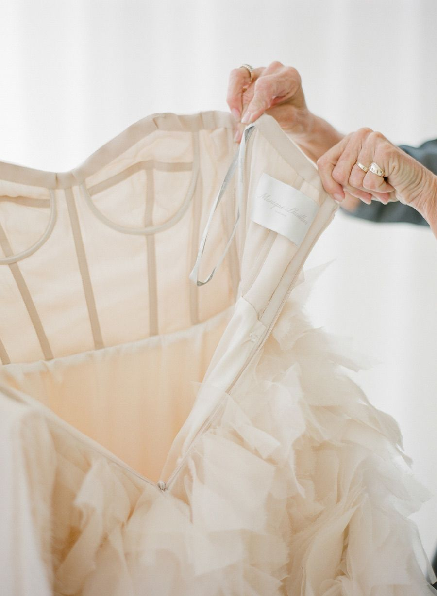 Lining fabrics dress