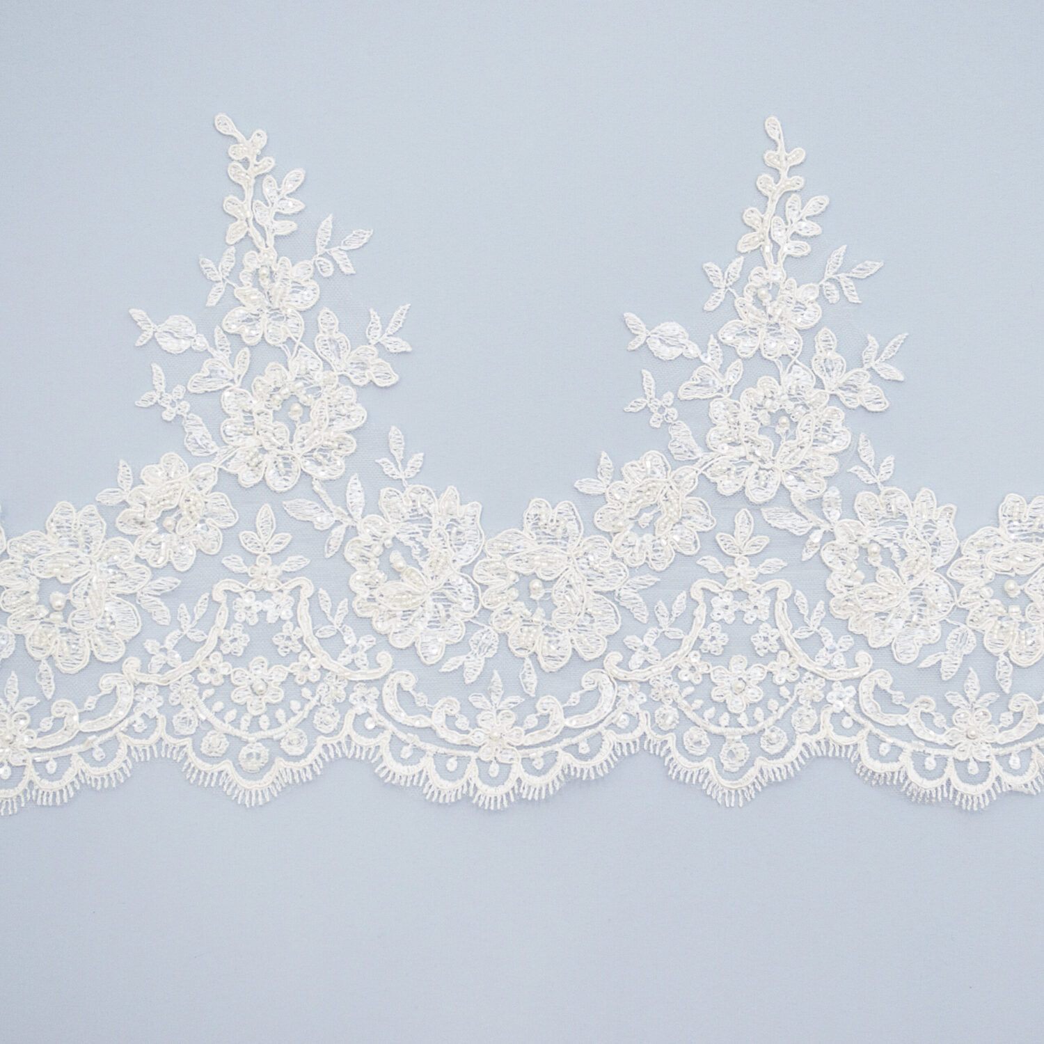 Embroidered lace trim C1865CFB-1-N99