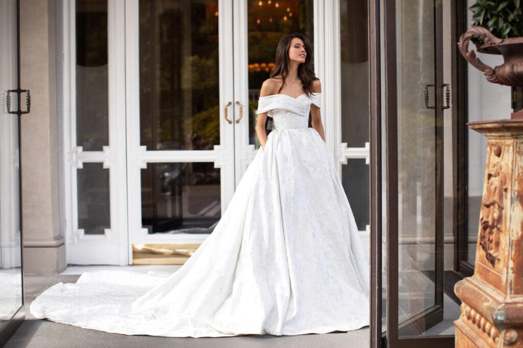 платье из жаккарда Milla Nova