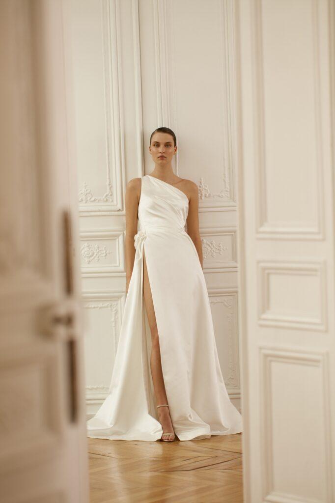 dress satin Dana Harel