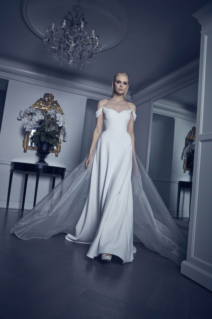 dress Romona Kaveza organza fabric