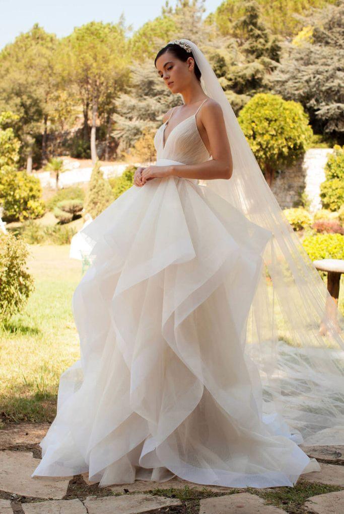 платье Georges Hobeika органза ткань