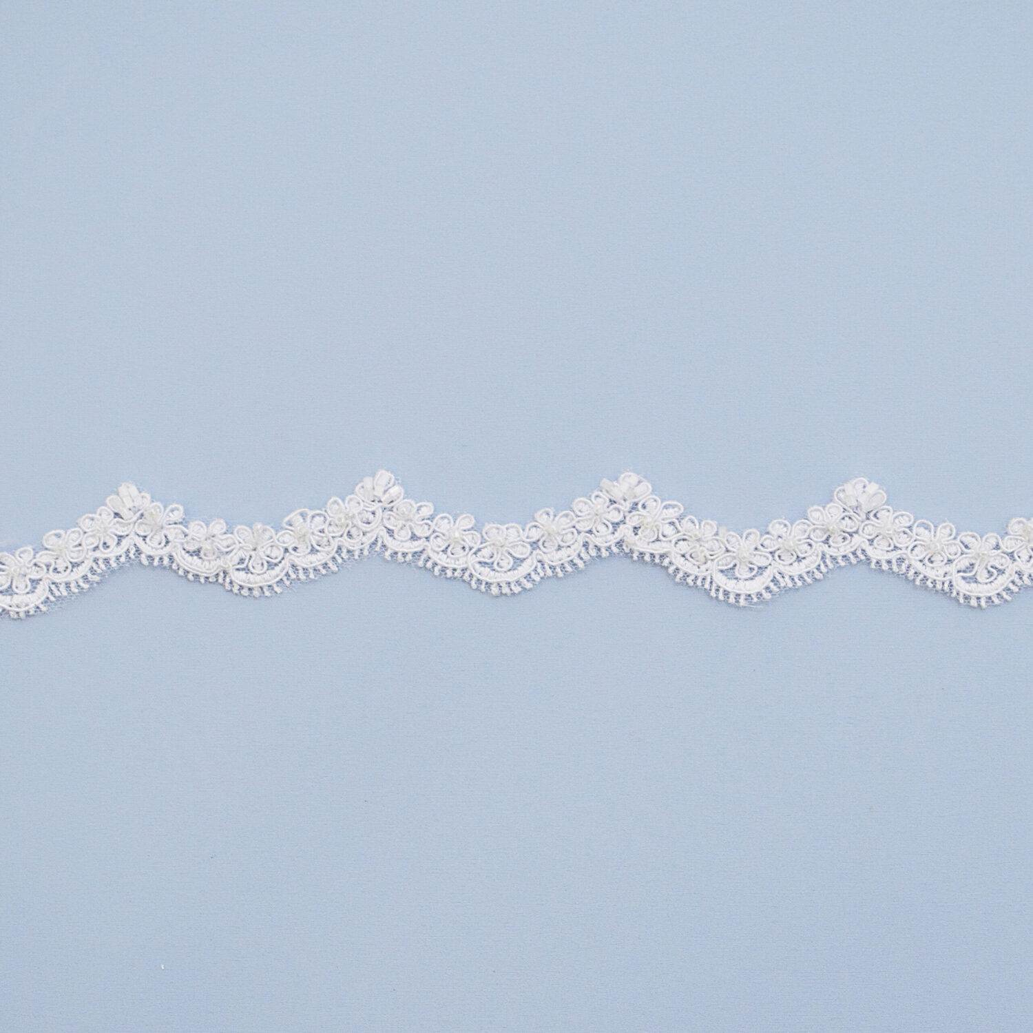 Embroidered lace trim L9052C3B-N44