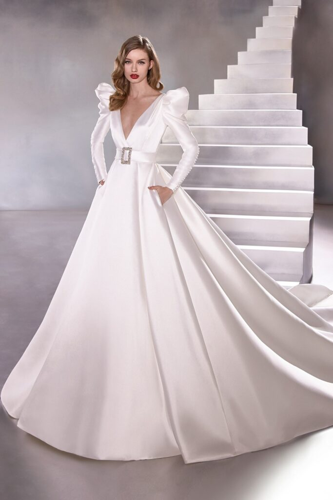 dress Pronovias mikado