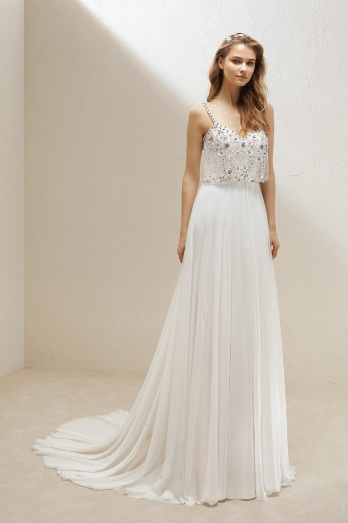 Chiffon fabrics for dresses