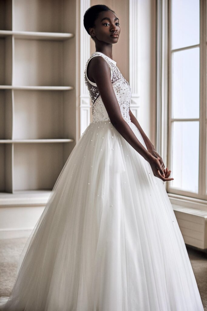 tulle for a wedding dress VIKTOR & ROLF