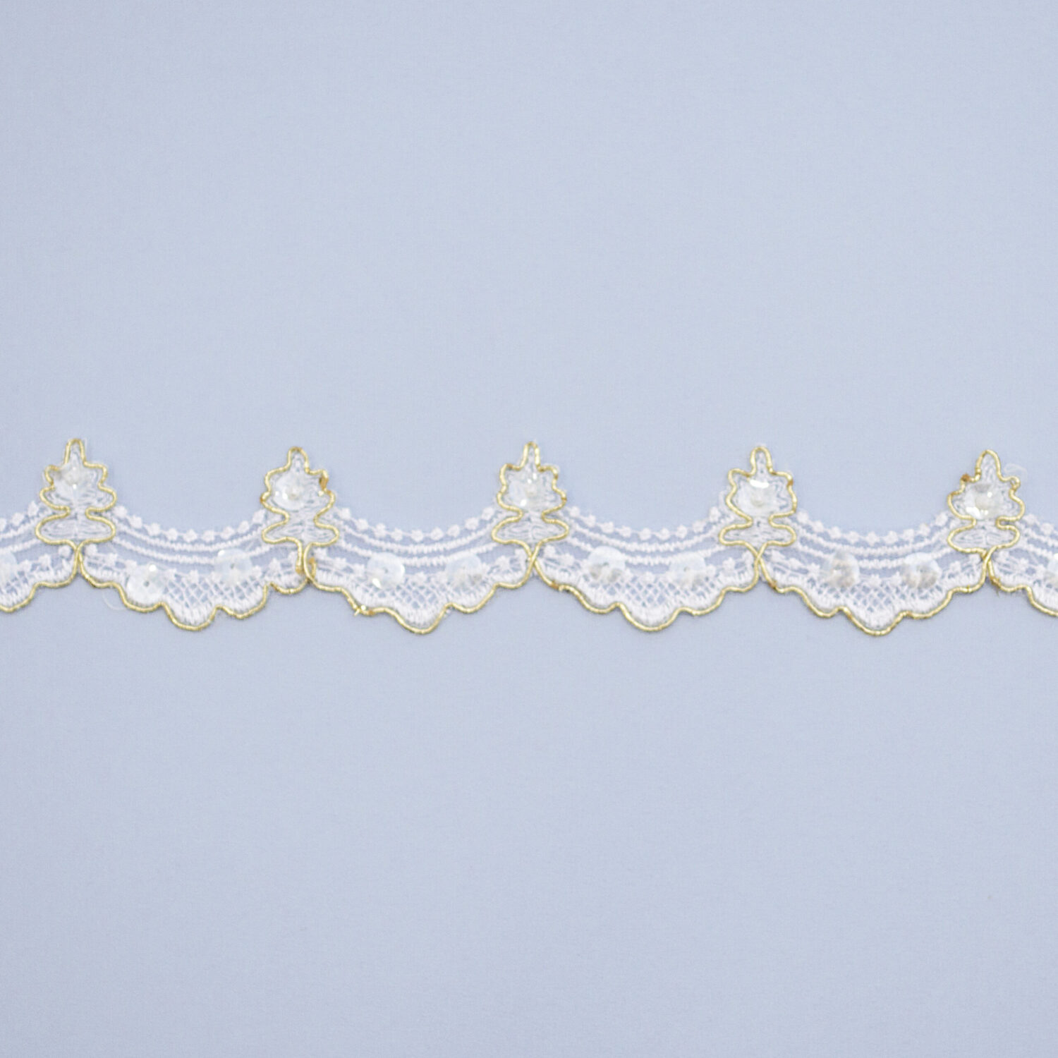 Embroidered lace trim TF-5002B-A
