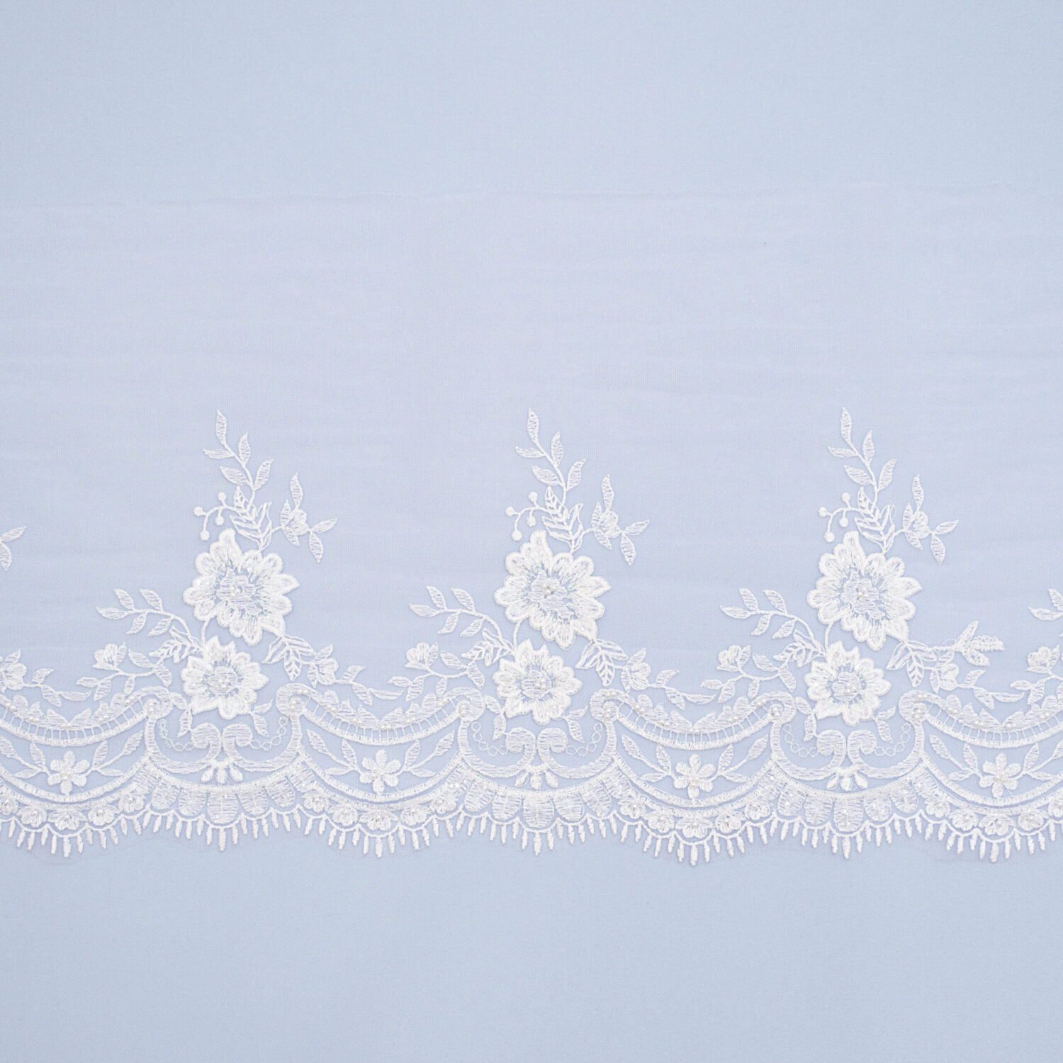 Embroidered lace trim TJ-5233B