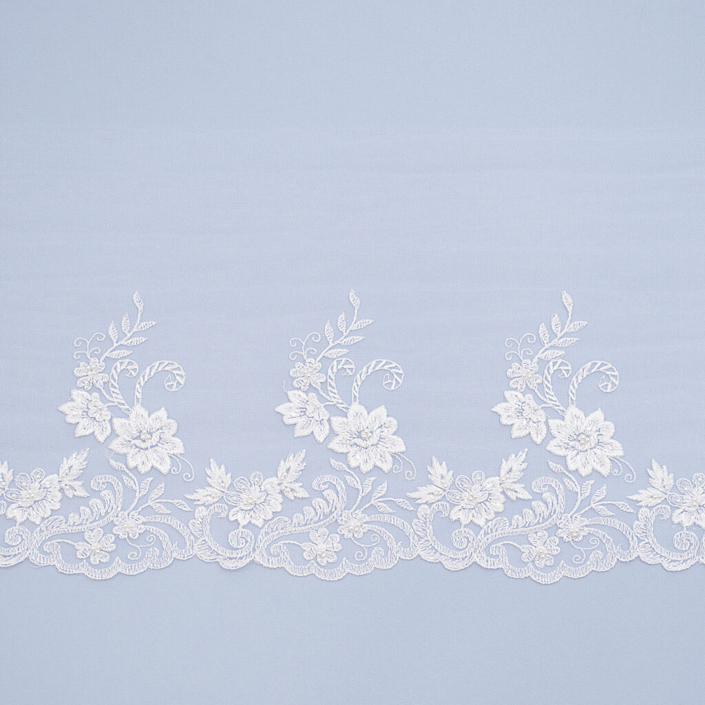 Embroidered lace trim TJ-5234B