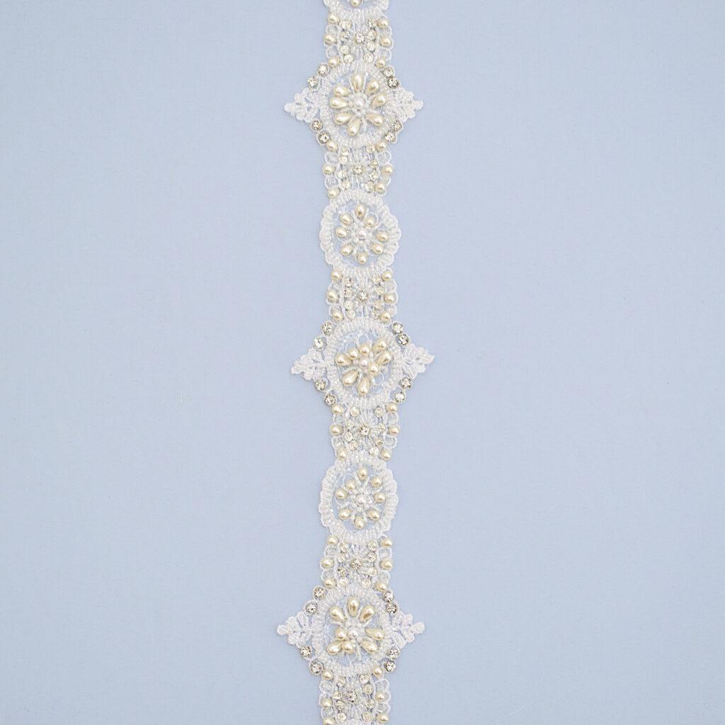 Belt with beads T1436KFB-N44
