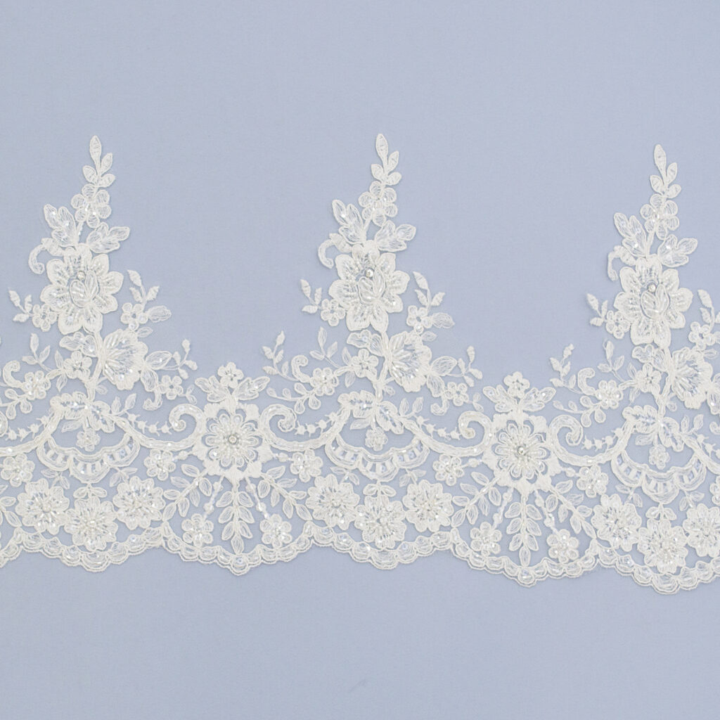 Embroidered lace trim AC11199DC4FB-1-N44