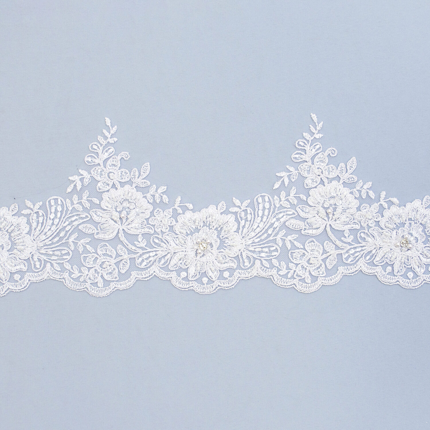 Embroidered lace trim C1666C4FB-N44