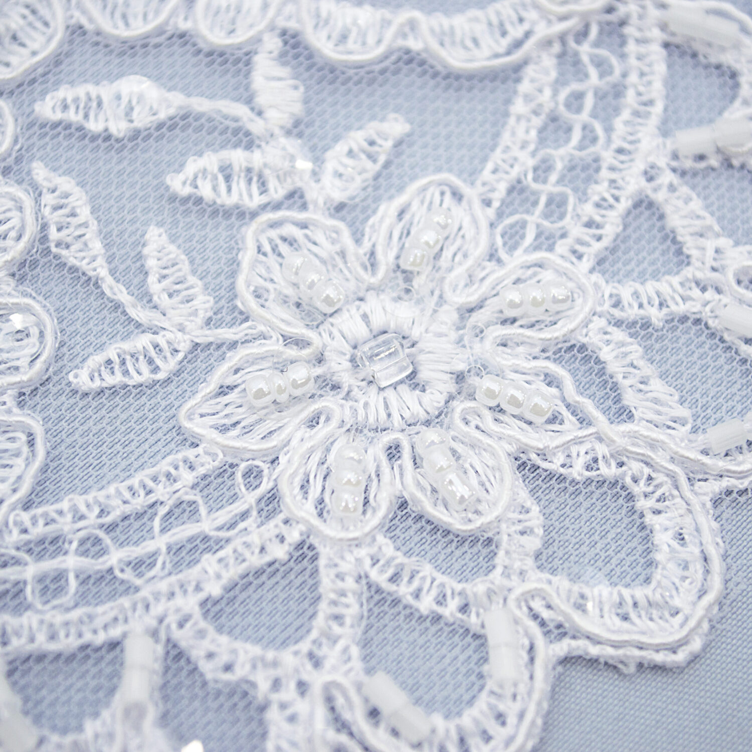Embroidered lace trim C1668C4FB-N44