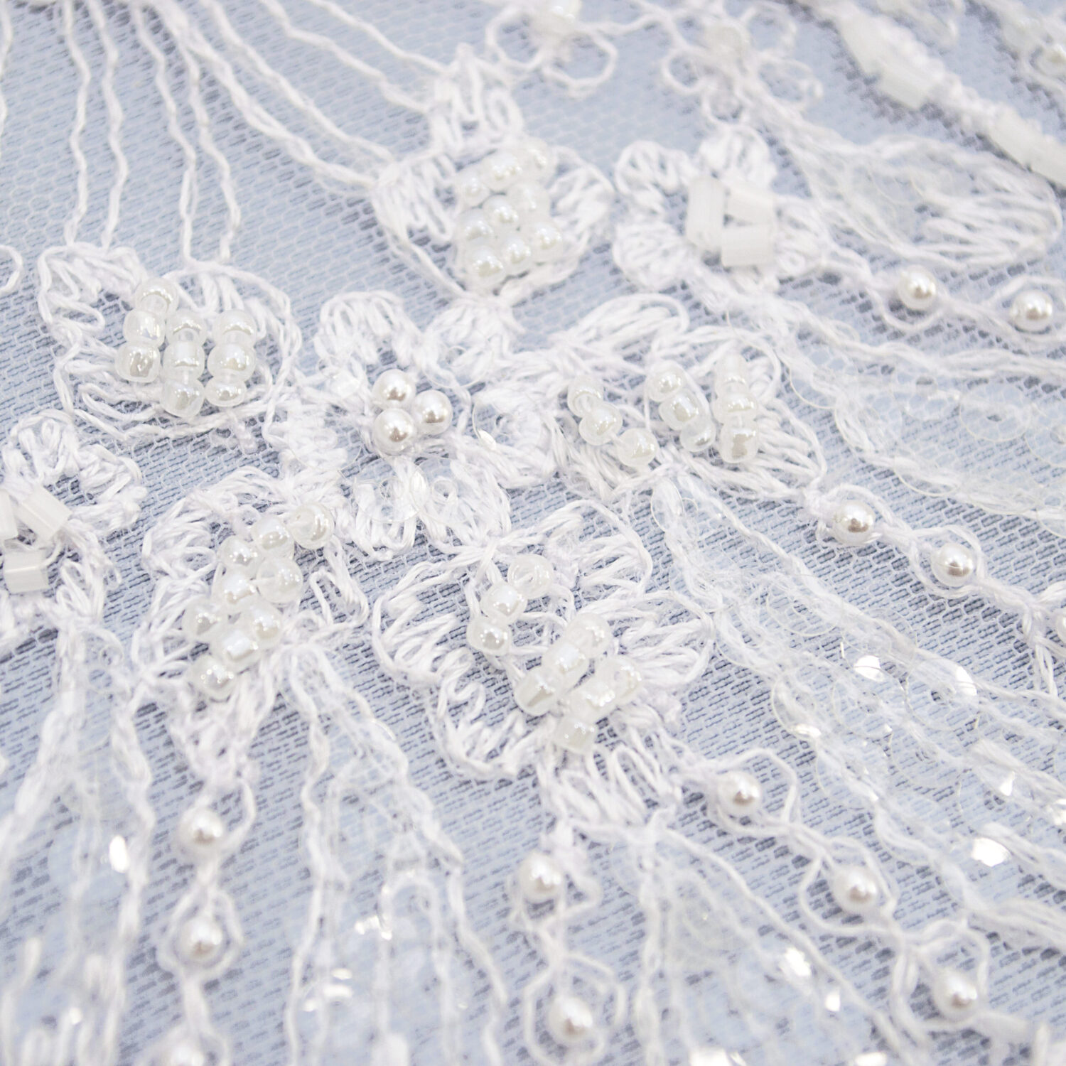 Embroidered lace trim M9311-1FB-N44