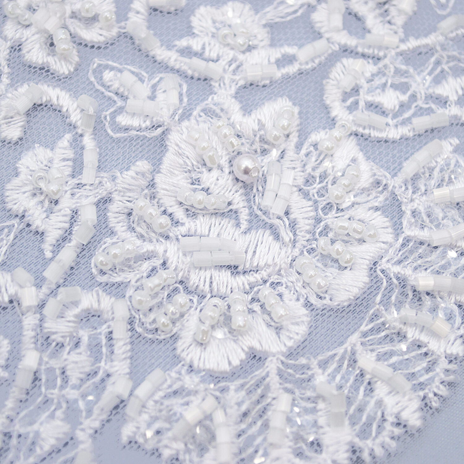Embroidered lace trim T1446FB-N44