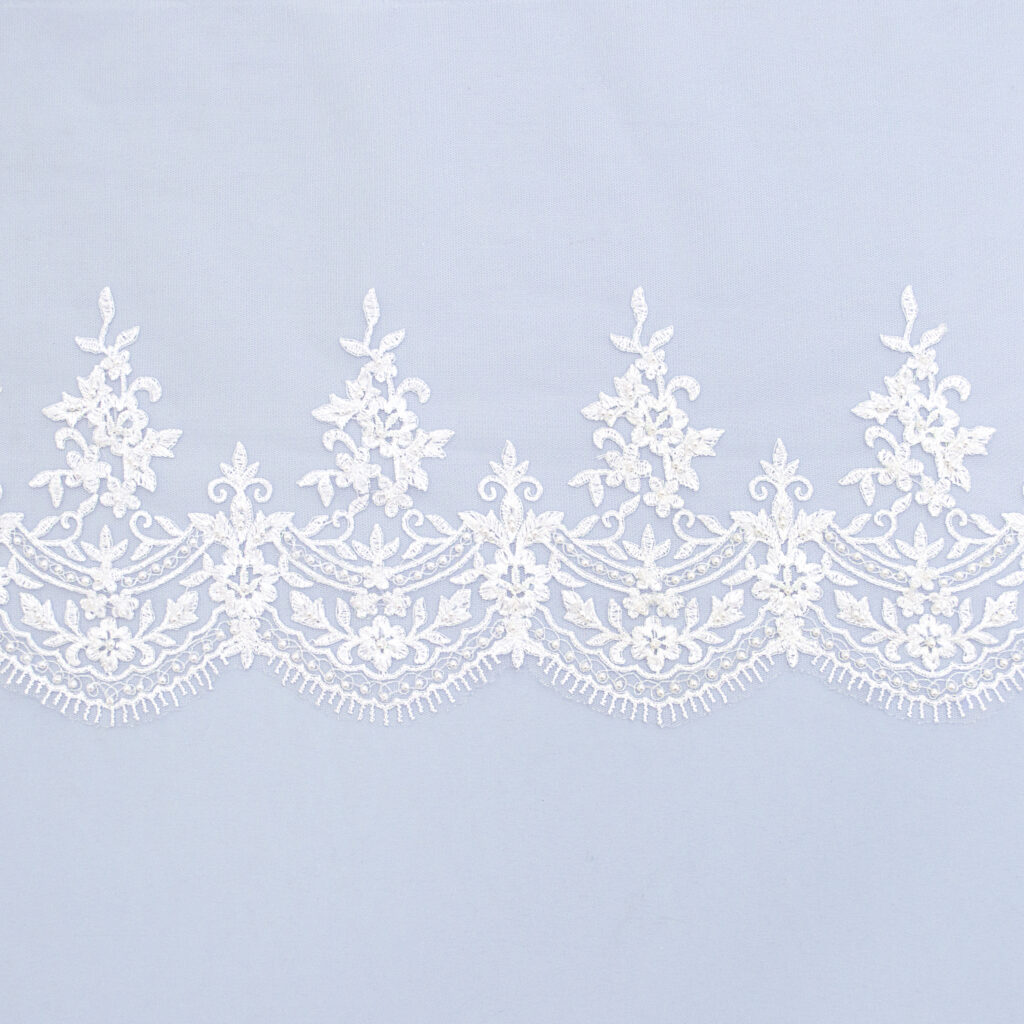 Embroidered lace trim TJ-5223B