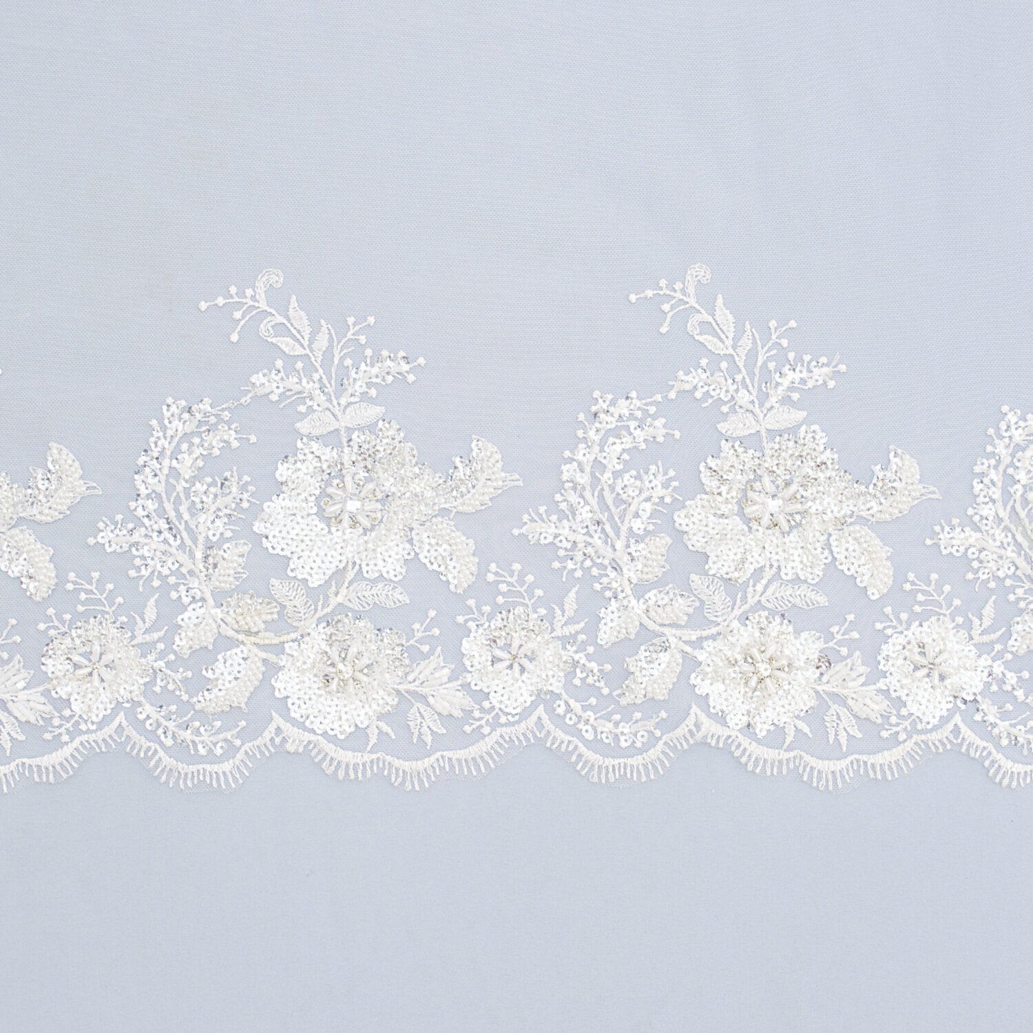 Embroidered lace trim TJ-5451B
