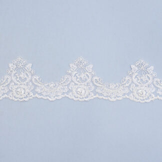 Embroidered lace trim TJ-5490B