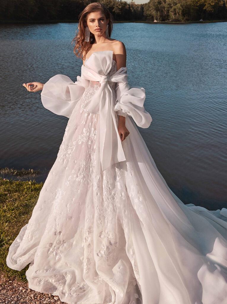 повітряні весільні сукні