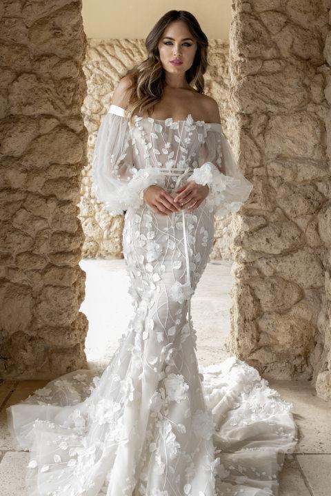 Тренды свадебных платьев 2021