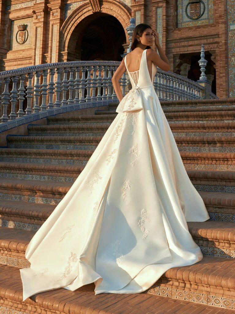 свадебное платье микадо Fernanda