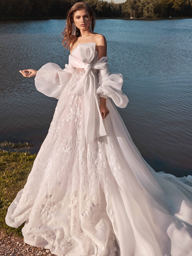 air wedding dresses