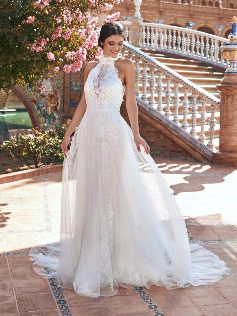свадбеное платье в греческом стиле