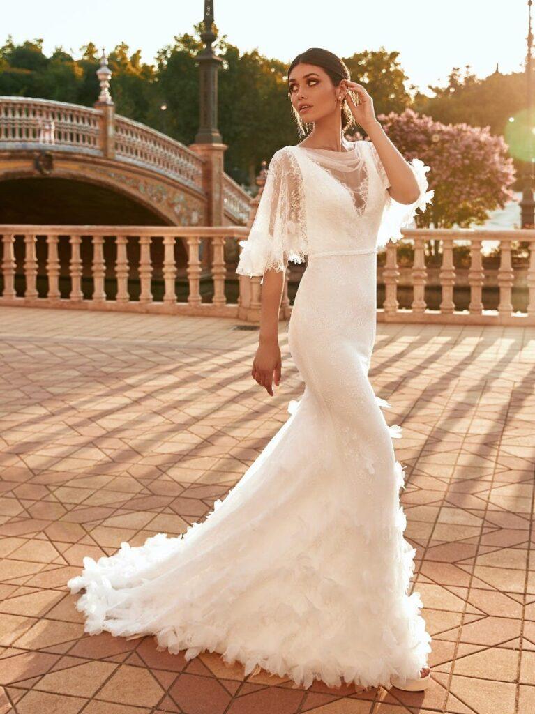 платье для свадьбы русалка