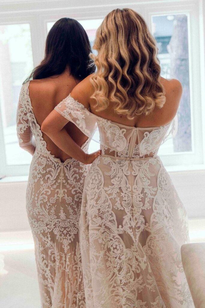 свадебное платье в восточном стиле от Berta