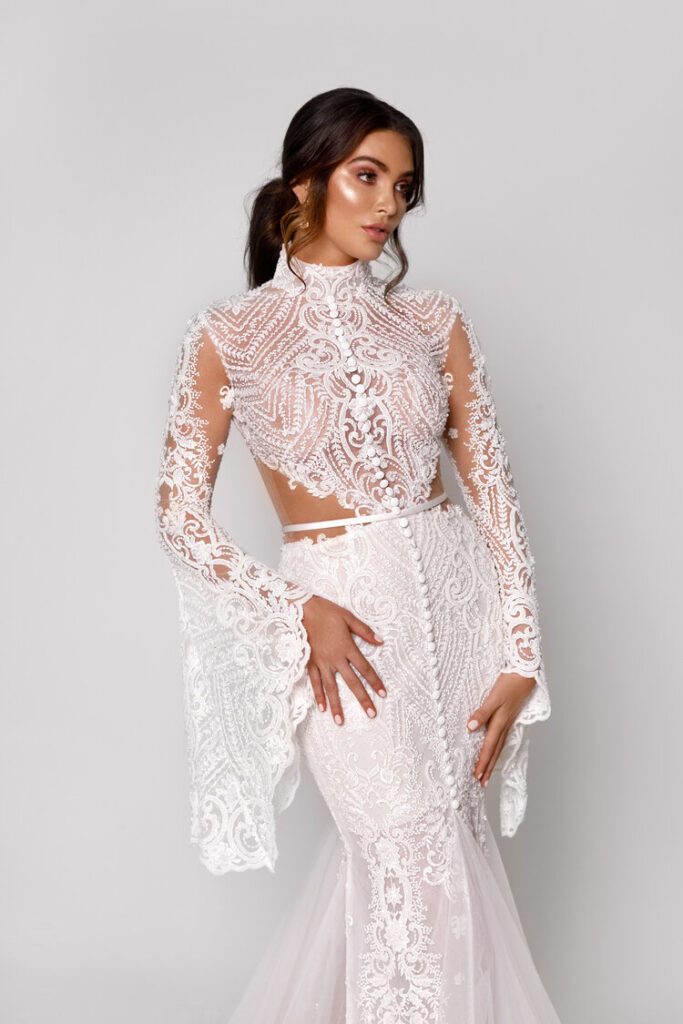 свадебное платье от George Elsissa