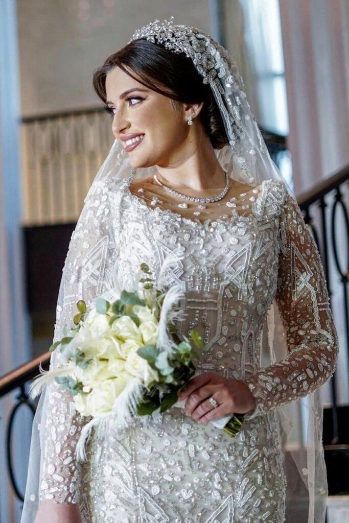 свадебное платье от Nour Muhtaseb