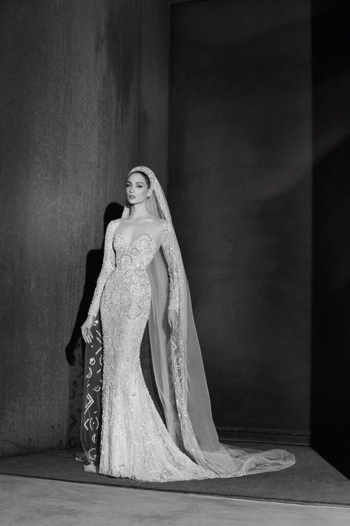 свадебное платье в восточном стиле от Zuhair Murad