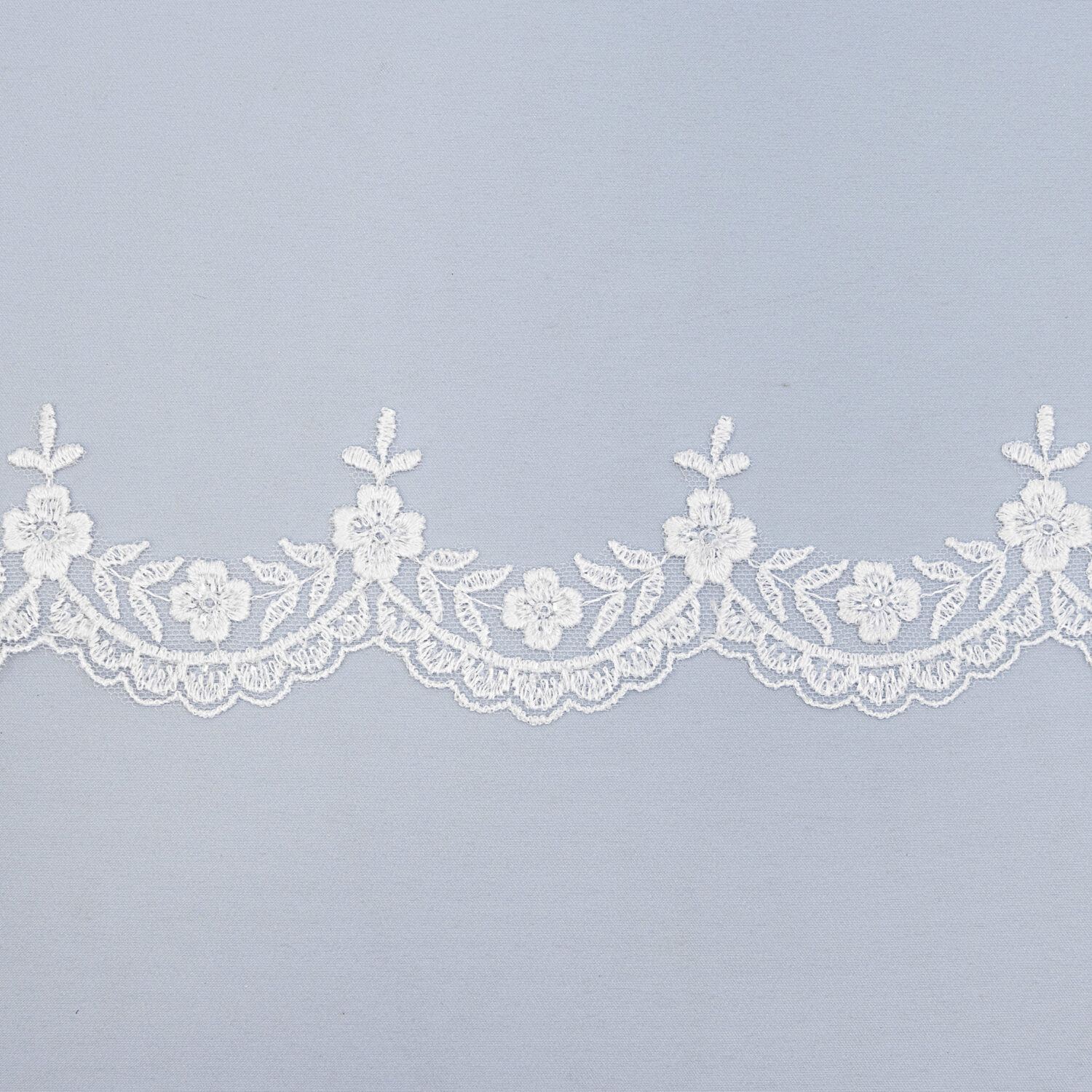 Sequined lace trim AM13264F-N44