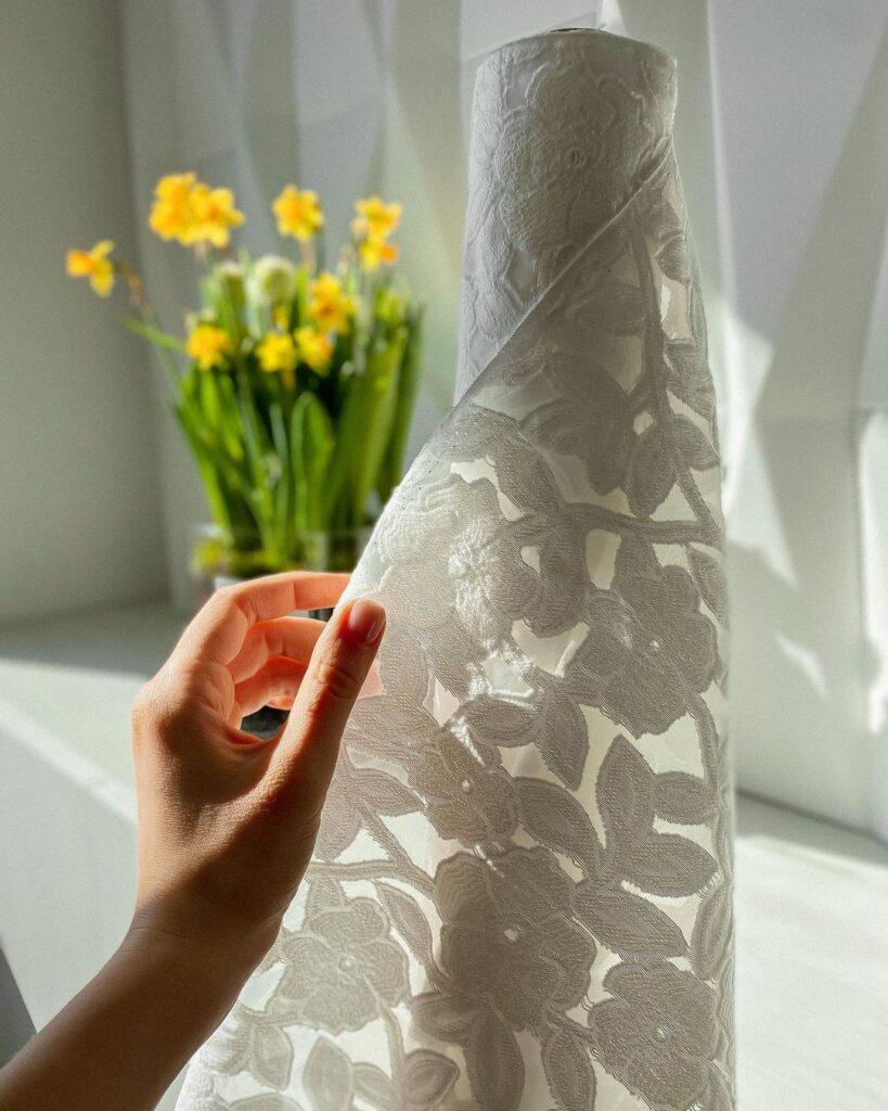 ткани для вечерних платьев