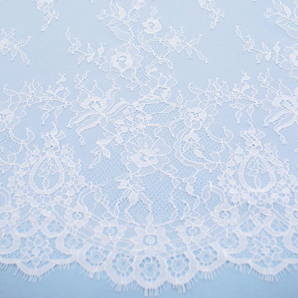 кружево на халат для невесты