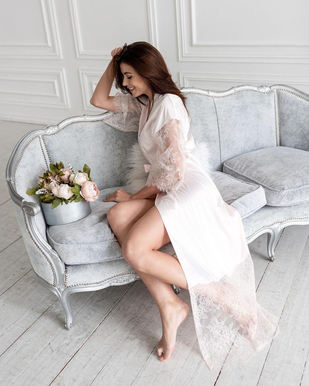 халат для невесты выбираем материалы