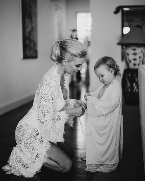 халат для утра невесты